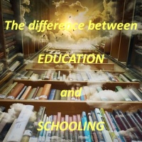difference between education and schooling